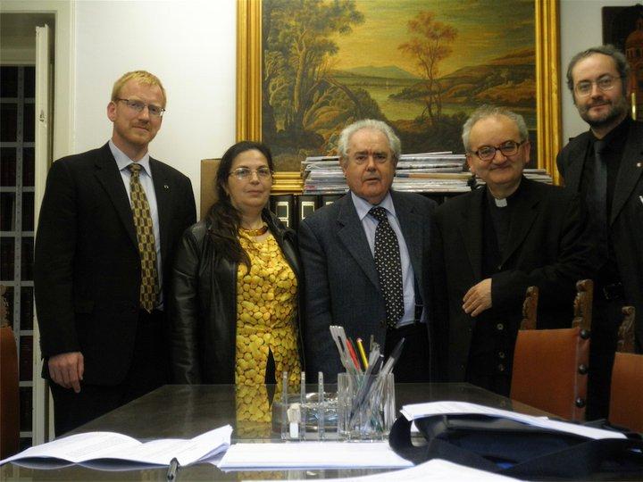 Giorgio Ruffa (Presidente), Dieter Kampen (Vice presidente), Anna Belli (Tesoriere), Franco Buzzi (Direttore scientifico), Paolo Ricca (Consigliere)